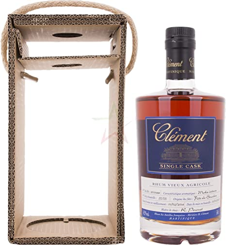 Clément Rhum Vieux Agricole Single Cask Moka Intense Rum - 500 ml