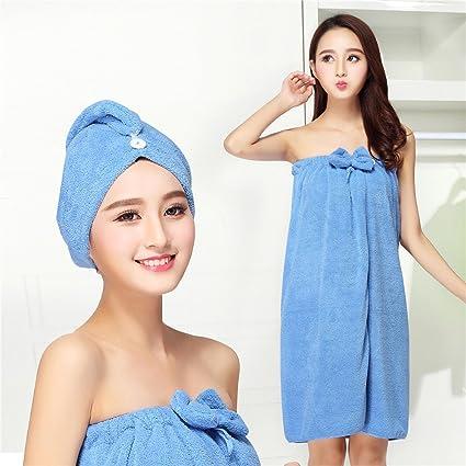 MIWANG En verano puede llevar toallas de baño Stomacher femenina falda, Algodón hermoso Envolvió Pecho