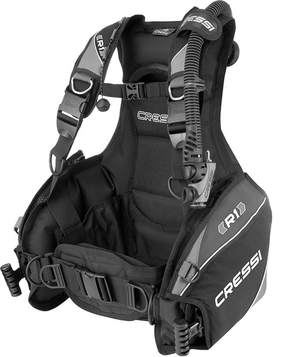 Cressi R1 Weight Integrated BCD by Cressi