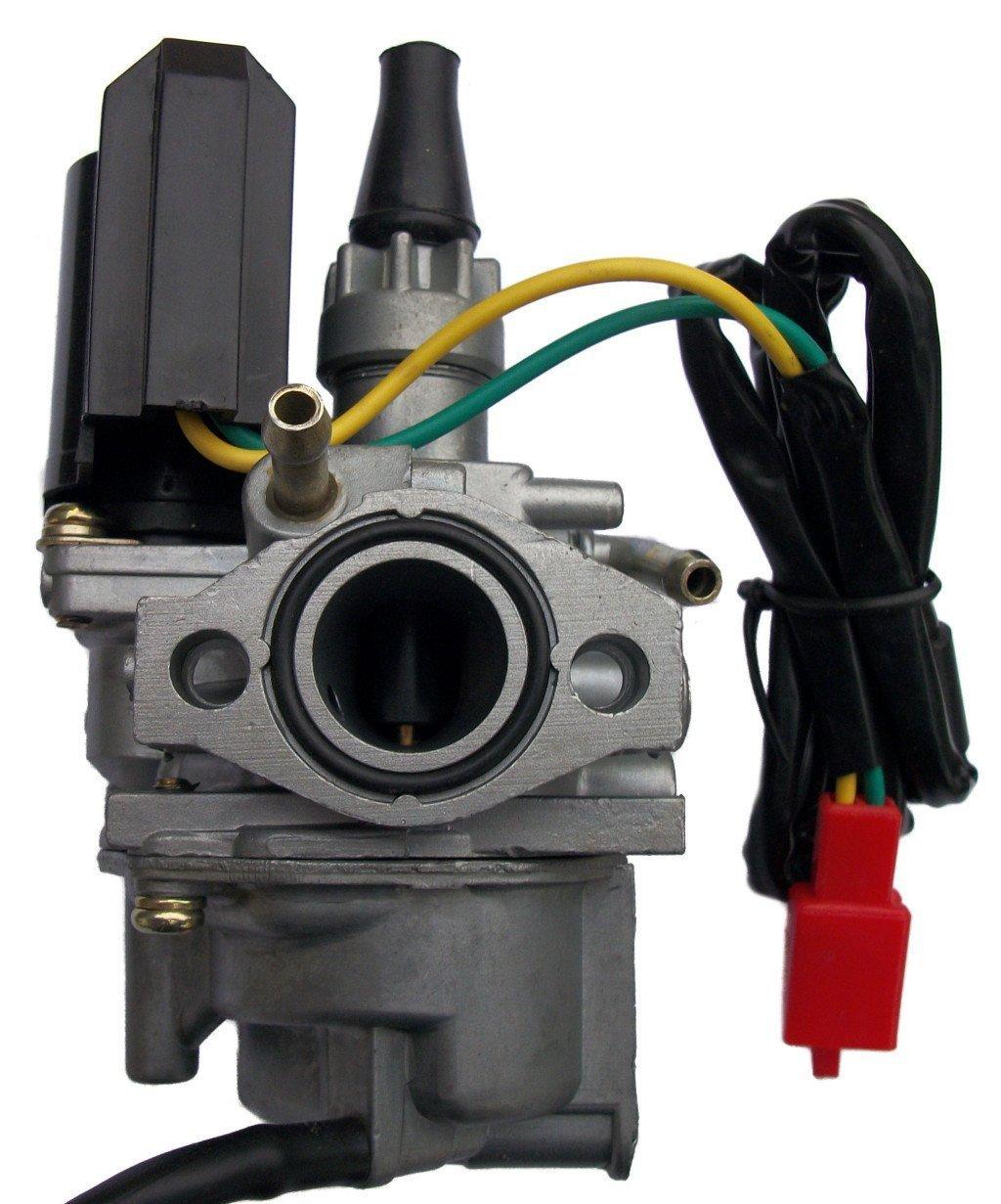 amazon com: carburetor for honda tg 50 tg50 tg 50m tg50m gyro 3 wheel carb  carby 1985 1986: automotive