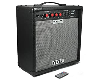Fever GB40 40 Watts Bass Combo Amplifier with USB and SD Audio Interface with Remote Control