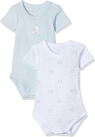 Chicco Set 2 Body Manica Corta con Apertura Sulla Spalla, Turquesa (Azzurro Chiaro 021), 74 (Talla del Fabricante: 074) (Pack de 2) para Bebés: Amazon.es: Ropa y accesorios