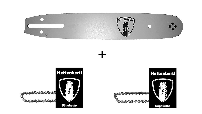 Schnittl/änge Schwert f/ür Motors/äge PARTNER 4700 45 cm Schwert Kettenbertl F/ührungsschiene 325 1,3 mm
