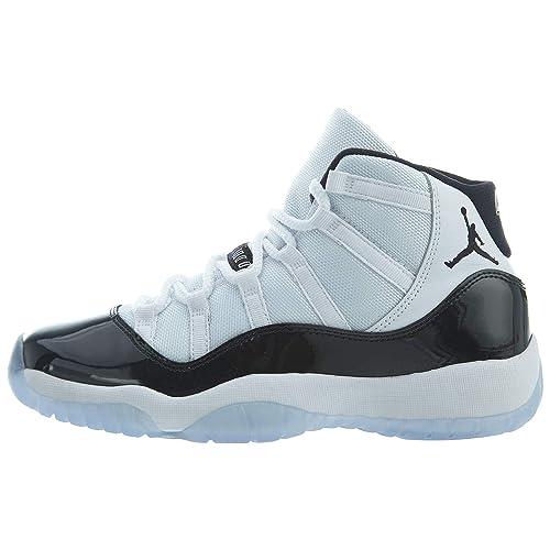 72297649ada76 Nike - Air Jordan 11 Retro - 378038100 - El Color  Blanco-Negros ...