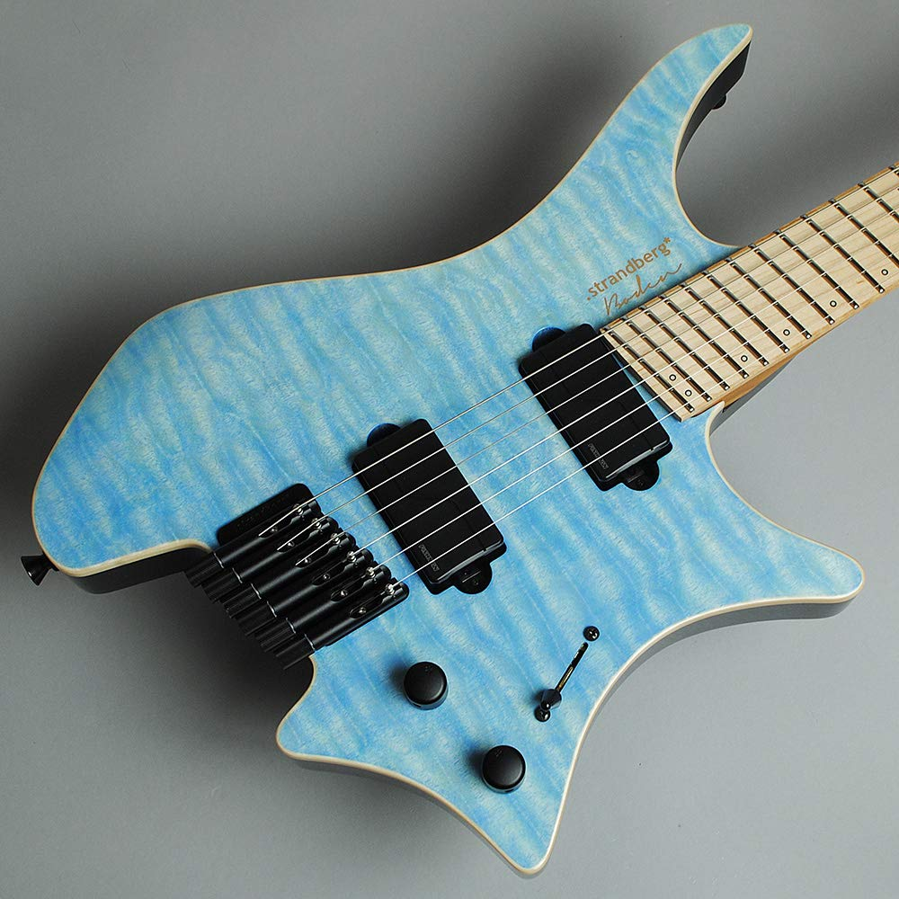Strandberg Boden J6 RAS LOCK/Caribbean Light Blue BanG Dream! RAISE A SUILEN 朝日六花モデル ストランドバーグ   B07P2JS595