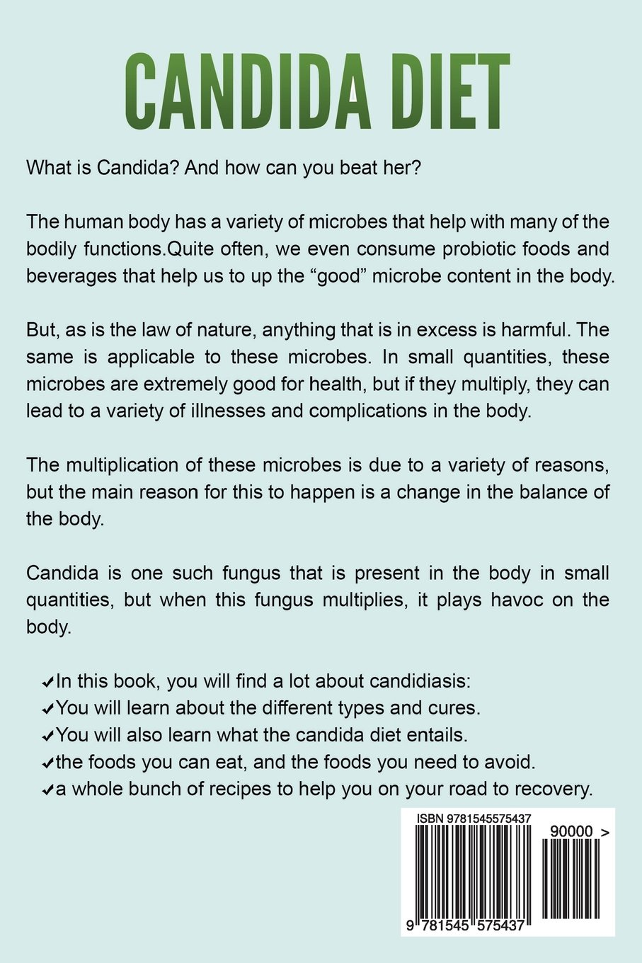candida diet: the ultimate candida diet program to clean your system