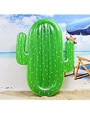 Winthome Flotador Inflable en Forma de Cactus, Flotante Hinchable tamaño Gigante para la Piscina o