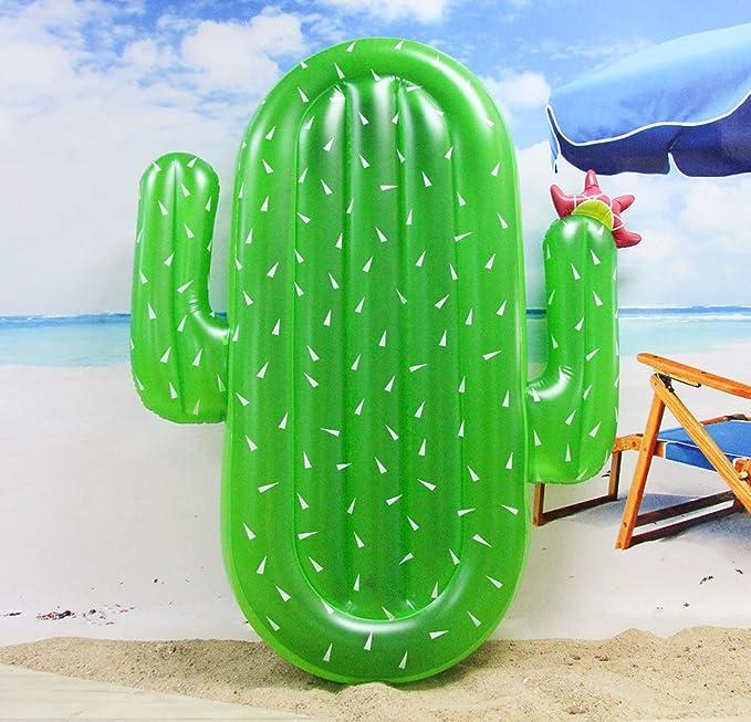 Winthome Flotador Inflable en Forma de Cactus, Flotante ...