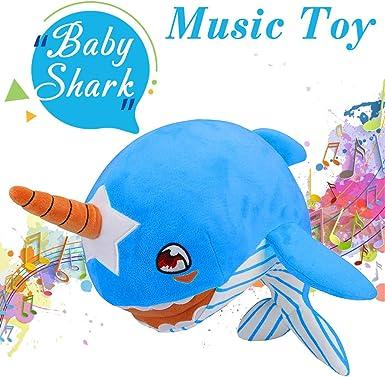 Baby Shark Official Plush Stuffed Animals Kids Toys for Children Birthday Gift