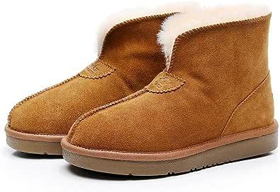 UGG LUXY Slippers (US 7, Chestnut)
