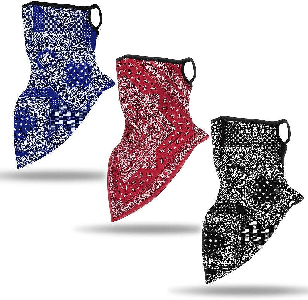 Multi-Function Cloth Hose Scarf Neckerchief Loop Scarf Motorcycle Bandana Scarves