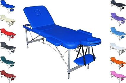 Lettino Portatile Massaggio.Polironeshop Mercurio Lettino Portatile Alluminio Per Massaggi Estetica Fisioterapia Tattoo