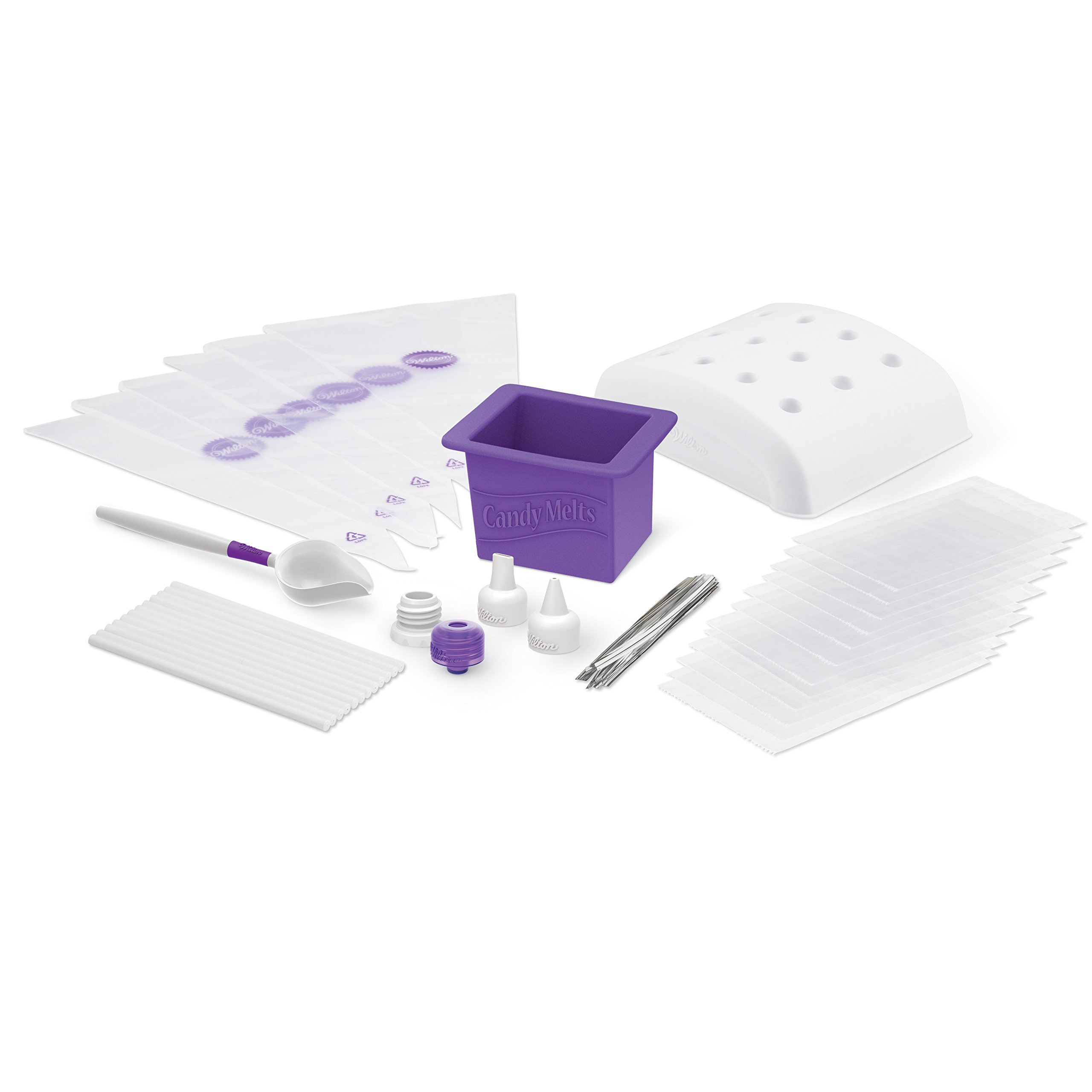 Wilton Dip-N-Decorate Essentials Set, 49-Piece - Candy Making Supplies