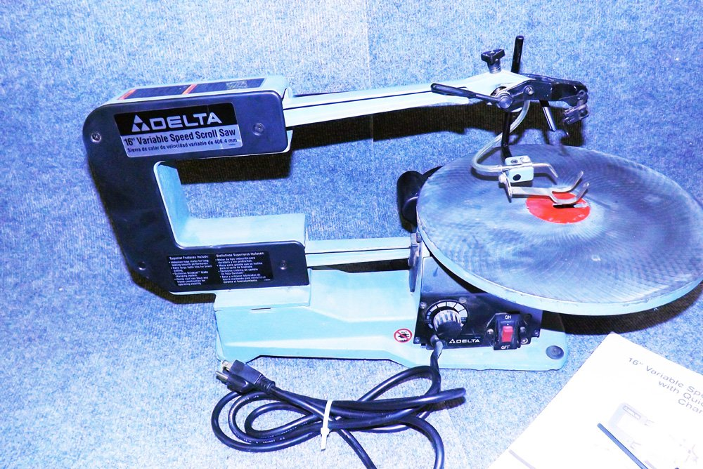 delta 16 scroll saw manual