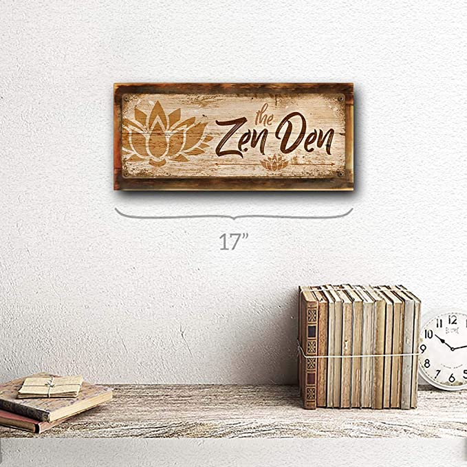 Framed Sacred Lotus Photograph Laminated on Wood Home Decor Modern Look