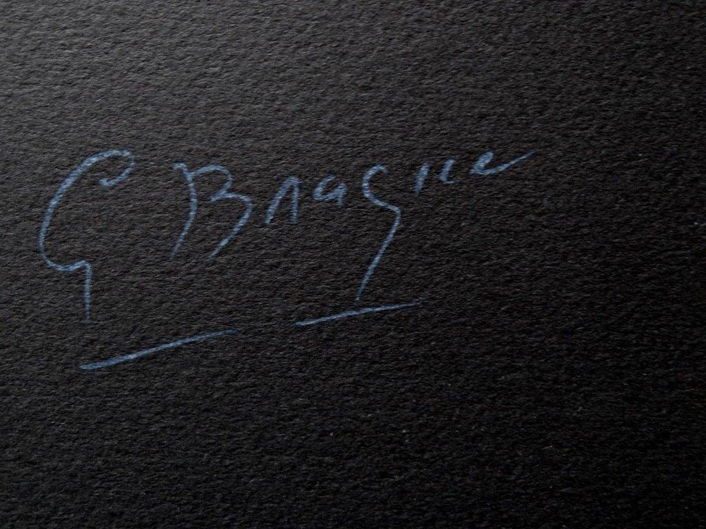 Georges BRAQUE Lithographie originale S/él/ène la Lune #Sign/ée