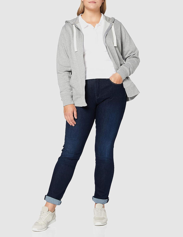 Build Your Brand Damen Ladies Jersey Polo T-Shirt