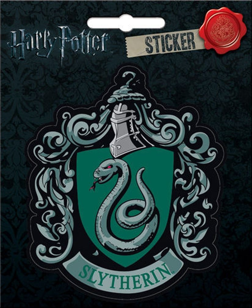 "Ata-Boy Harry Potter Slytherin Crest 4"" Full Color Sticker"