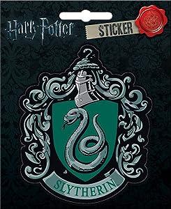 "Ata-Boy Harry Potter Slytherin Crest 4"" Full Color Sticker"