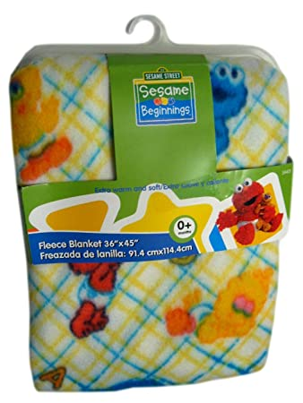 Amazon.com  Sesame Street Baby Extra Soft Fleece Blanket  Baby 730d5f924