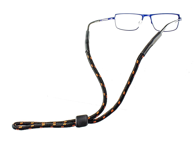 Realizzato in Diversi Colori per Lo Sport Outdoor e Il Tempo Libero Edison /& King Laccio per Occhiali con Fermo in plastica