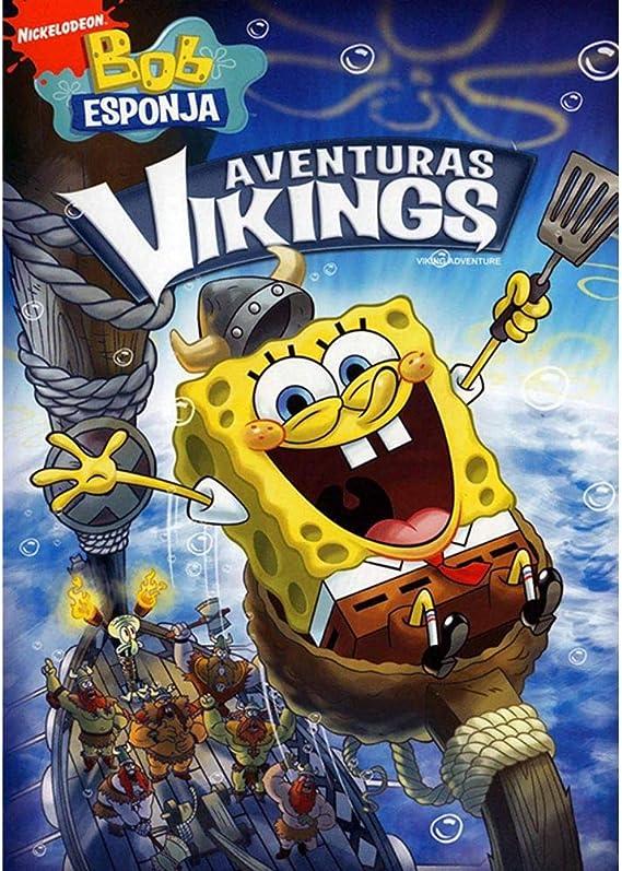 Bob Esponja - Aventuras Vikings: Amazon.com.br: DVD e Blu-ray