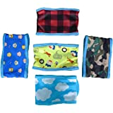 Dog Diapers,SET - 4pcs Lillypet Dog Puppy Diaper Washable MALE Belly Band for Small Dog Random Colors