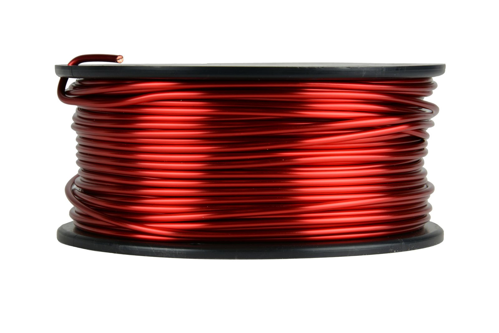 TEMCo 13 AWG Copper Magnet Wire - 1.5 lb 94 ft