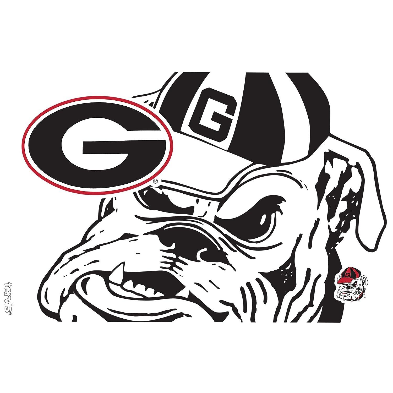 Tervis 1289361 NCAA Georgia Bulldogs Tumbler with Lid Clear 16 oz