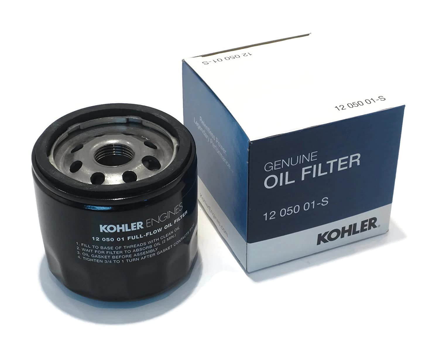 New OEM Kohler OIL FILTER 12 050 01-S 1205001 for Small Gas Engine Lawn Mower /supplytheropshop
