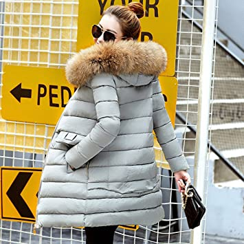 Amazon.com: Womens Parka Winter Jacket Casacos De Inverno ...