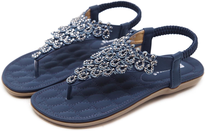 navy sparkle flip flops