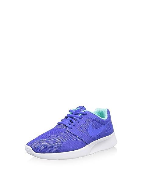 Nike Wmns Kaishi Print, Zapatillas de Deporte para Mujer, Azul (Rcr Bl/Rcr Bl-Hypr TRQ-WLF Gry), 38 EU
