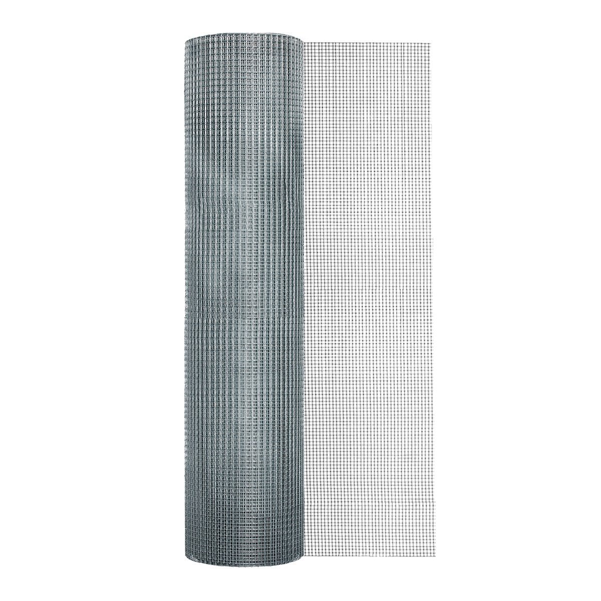 Garden Zone 48 Inches x 100 Feet - 1/4-Inch Openings 23 Gauge - Galvanized Rolled Mesh Hardware Cloth - For Fencing Around Chicken Coop, Run, and Gardens by Garden Zone