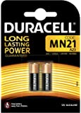 Duracell MN21 Specialty Alkaline Battery 12 V, Pack of 2