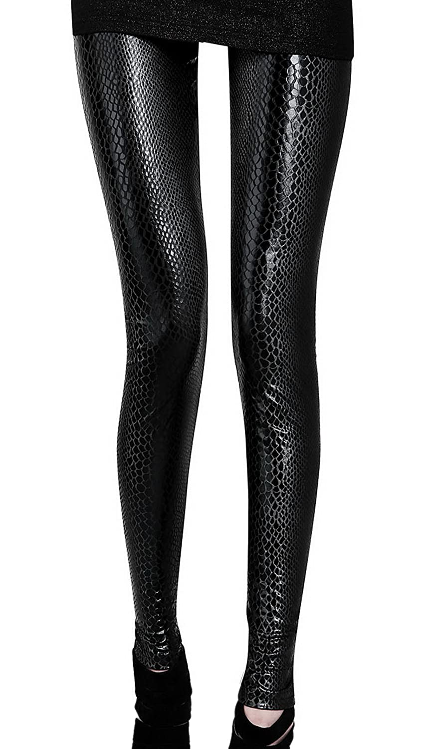 fb3fabe0d28fea Stretchy, Full-Length, Ankle-pleated and Comfortable Slim Fit Leggings.  Flexible, stretchy polyester leggings for ladies ...
