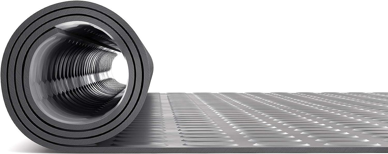 Noppenmatte Flachnoppenmatte Antirutschmatte Gummil/äufer Gr/ö/ße w/ählbar Schutzmatte Bodenmatte mit Noppen 120 x 400 cm