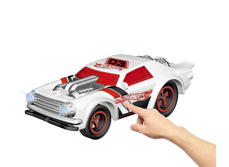63636 Multicolore Mondo Mondo-63636 Motors-Hot Wheels Night Shifter-Macchina radiocomandata per Bambini-2.4 GHz-Light/&Sound-63636