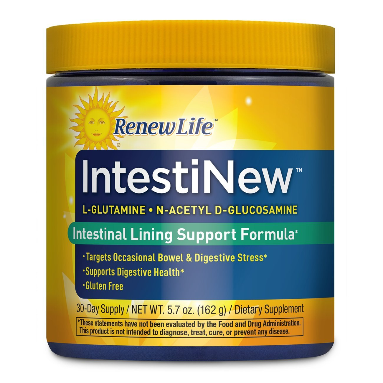 Renew Life - IntestiNew - digestive health supplement - gluten free - 5.7 ounces - 30 day supply