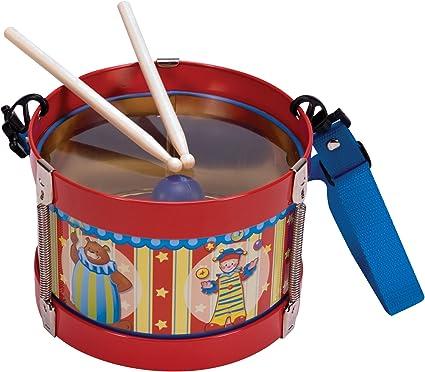 Amazon.com: Schylling Silly circo Tambor de hojalata: Toys ...