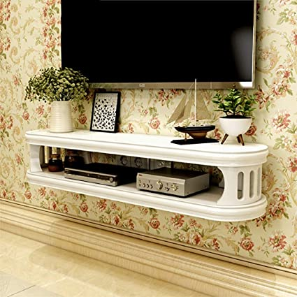 Amazoncom Floating Shelf Wall Mounted Tv Cabinet Bedroom