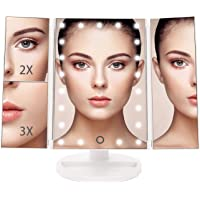 Bestope Trifold 21 LED Makeup Mirror