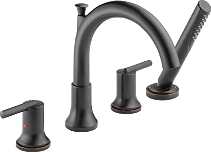 Delta Faucet T4759 Rb Trinsic Roman Tub With Hand Shower Trim