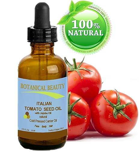 Tomate Semillas Aceite 100% puro/Natural/fría presionado portador de aceite. Para