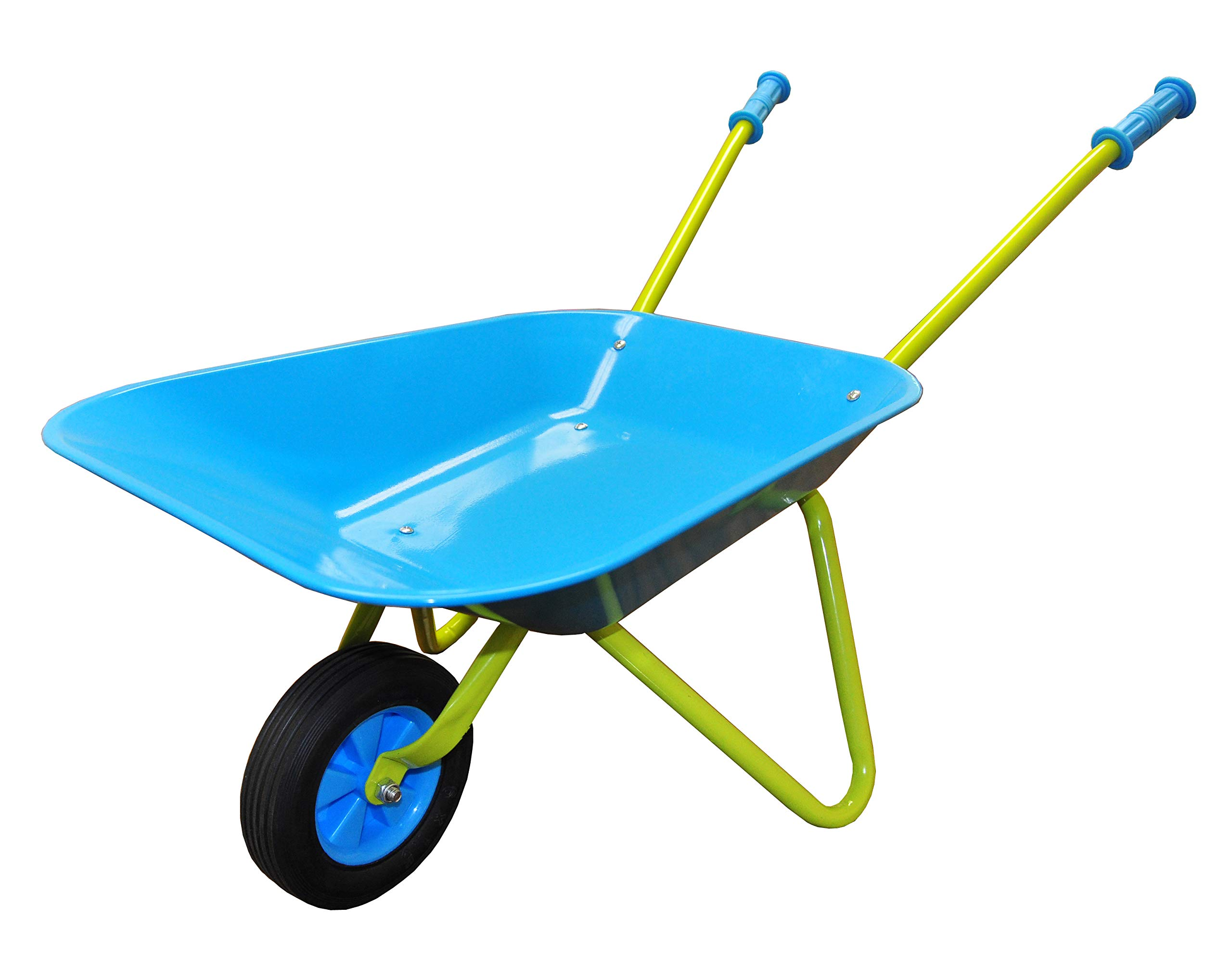 G & F 10041 JustForKids Kids Wheel Barrel made of real metal kids size by G & F Products