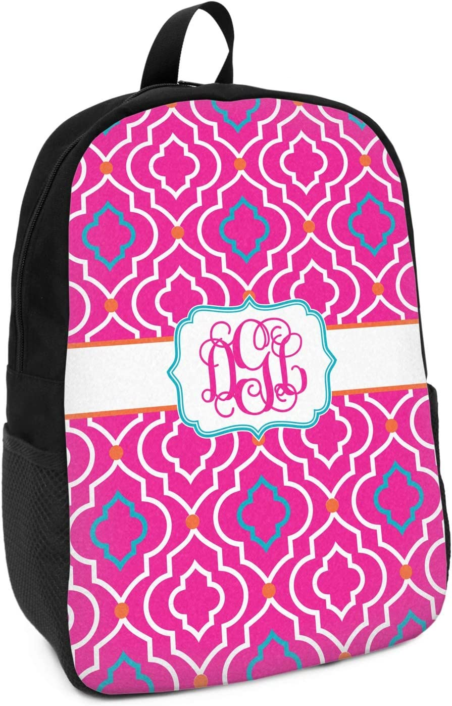 Colorful Trellis Kids Backpack Personalized