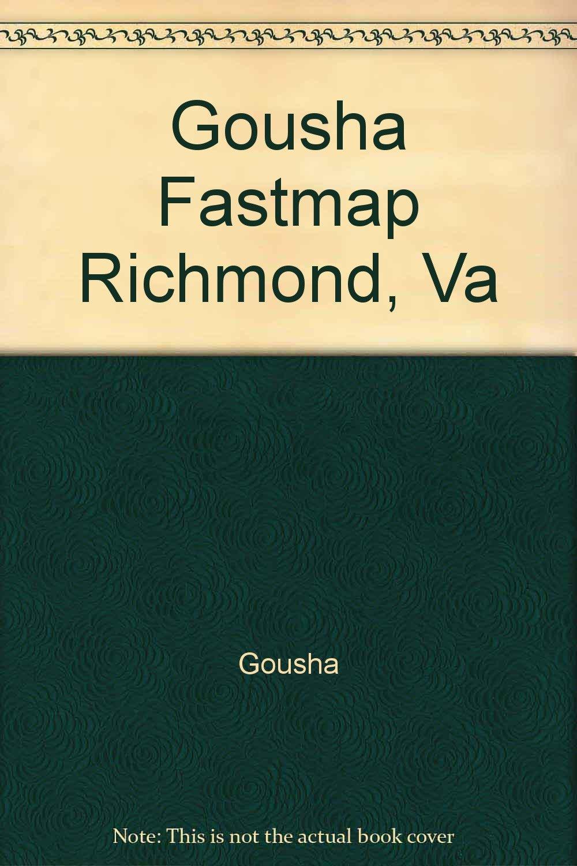 Gousha Fastmap Richmond, Va