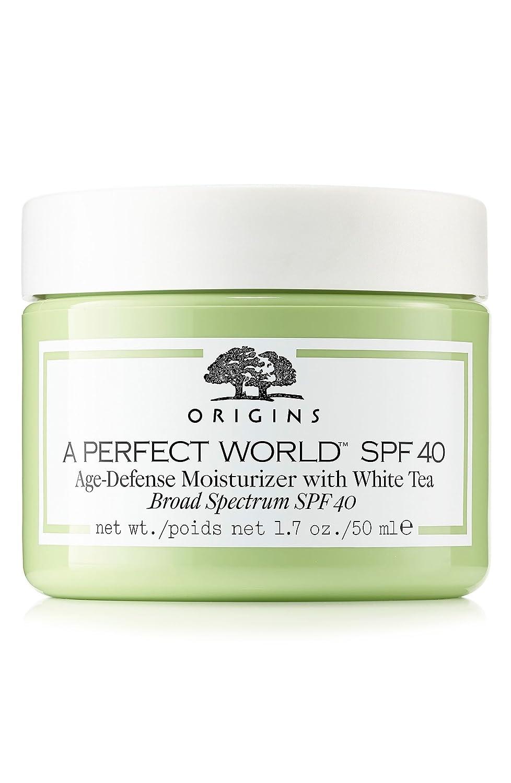 Origins A Perfect World SPF 40 AGE-DEFENSE MOISTURIZER WITH WHITE TEA.1.7OZ (Unbox)