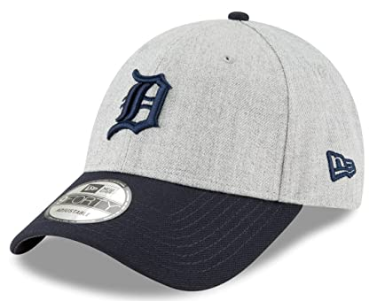 the latest 2125a 2f3d5 Image Unavailable. Image not available for. Color  New Era Detroit Tigers  9Forty MLB The League Heather 3 quot  Adjustable Hat