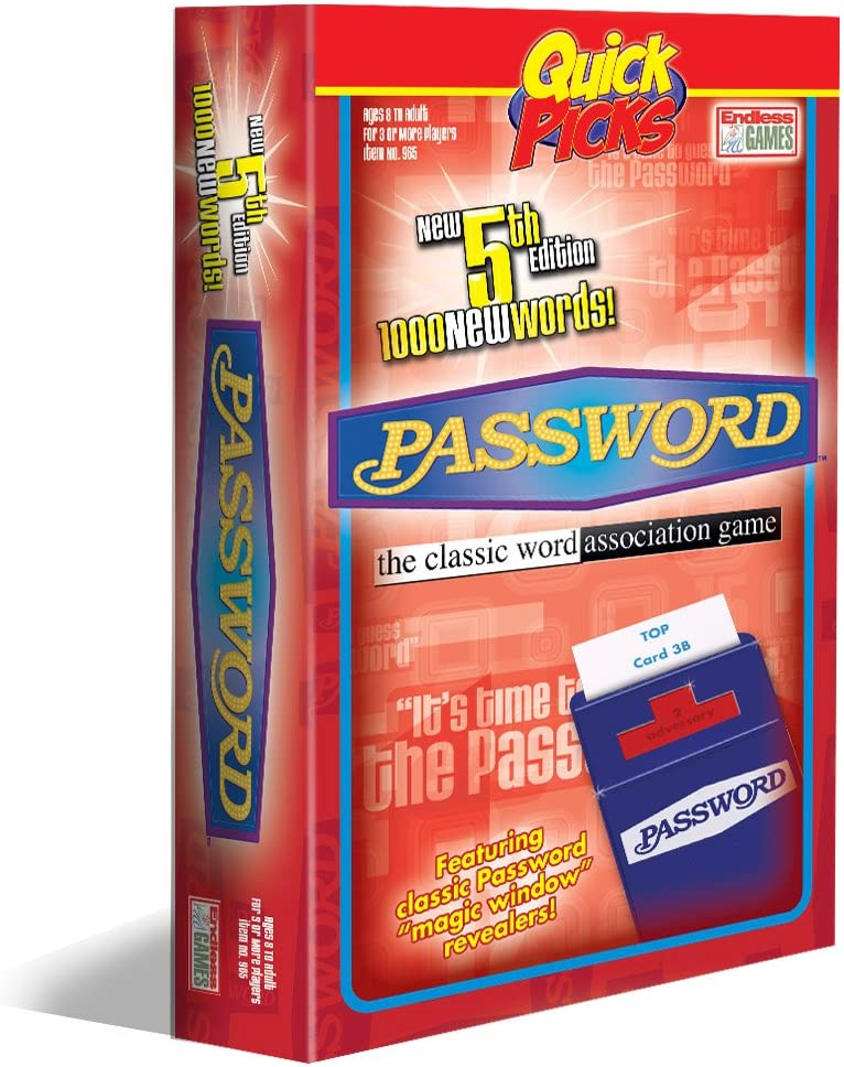 Quick Picks Password Travel Game by Password Quick Pick: Amazon.es: Juguetes y juegos